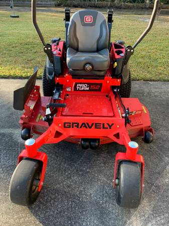 Photo Gravely Zero Turn Mower - $6850
