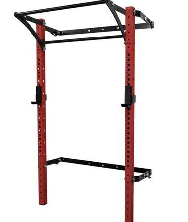 Photo Gym Wall mount squat rack w 2 pull up bars Rogue PRX - $1,050 (Ponte Vedra)