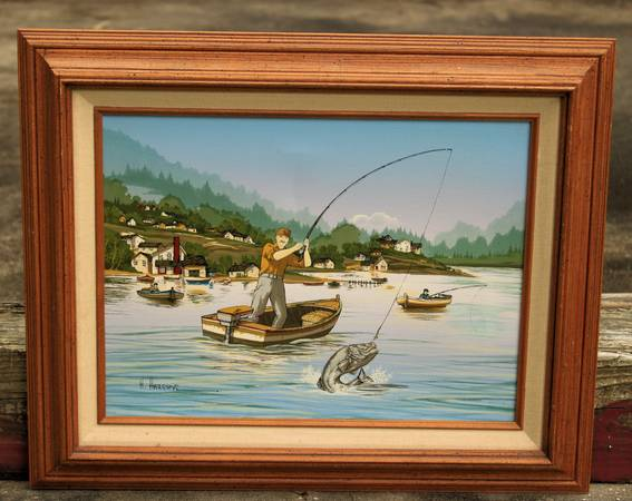 Photo H. Hargrove Collectible Painting - $40 (Southside)