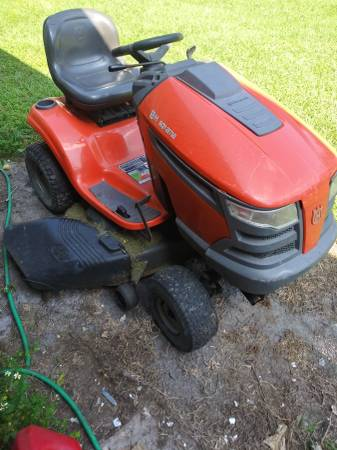 Photo Husqvarna 21 Horse Power riding Mower Tractor - $350 (Jacksonville Fl.)
