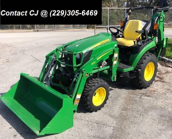 Photo John Deere 2025R TLB Tractor-Loader-Backhoe - $24,199 (Call CJ  229-305-6469)