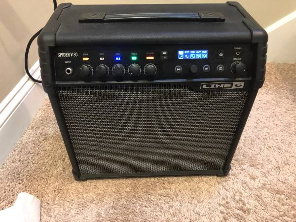 Photo Line 6 Spider V 30 30-watt Modeling Combo Amp - $150 (Jax)