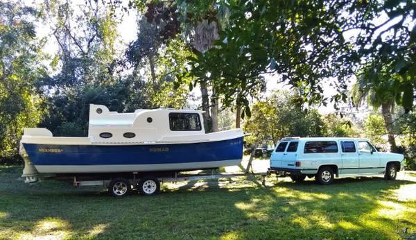 Photo Nimble Nomad Pocket Trawler 1997 - $19,950 (Jacksonville)