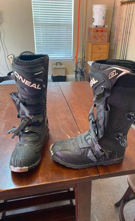 Photo ONeal Dirt Bike Boots - $60 (Jacksonville)