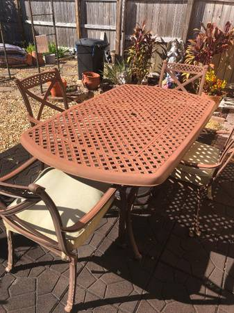 Photo Patio Table and Chairs - $80 (Orange Park)