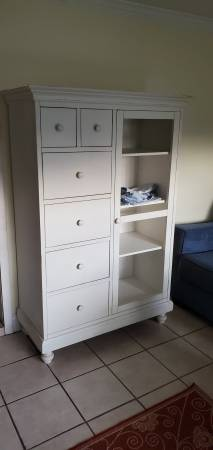 Photo Pottery Barn Wardrobe Cabinet Great Condition - $325 (KernanBeach)