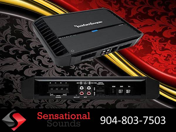 Photo Rockford Fosgate Punch Series Amplifier Installed (Jacksonville)