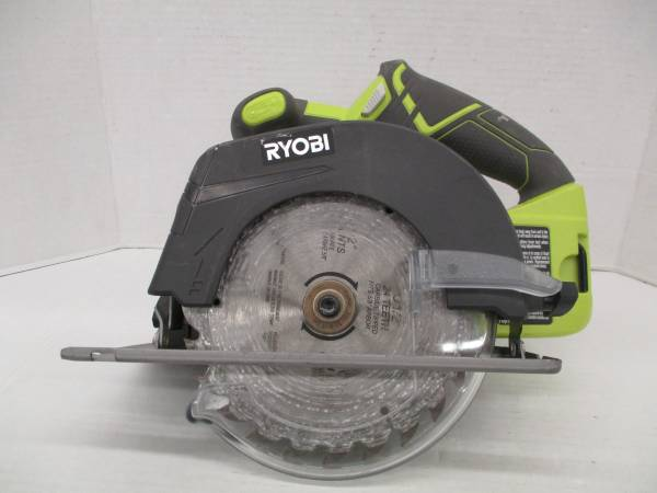 Photo Ryobi One P507 18V 6-12 in. Circular Saw 4,700 RPM TOOL ONLY - $45 (west jacksonville)