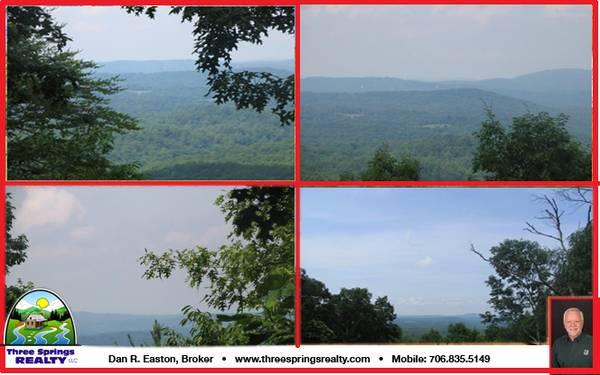 Photo STUNNING LONG RANGE VIEWS FROM NO GA MOUNTAIN LAND ON 11 ACRES (ELLIJAY)