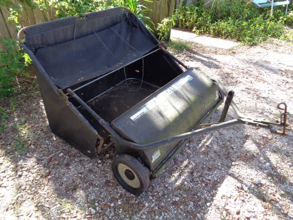 Sears Craftsman 42 Lawn Sweeper For Lawn Tractor 100 Keystone Heights Fl Garden Items For Sale Jacksonville Fl Shoppok