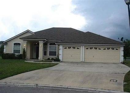 Photo Sits on one of the BEST lots in Sutton Lakes 4 br, 2 ba, 3car Garage. (Jacksonville, 11333 Knottingham Trace Ct, FL)