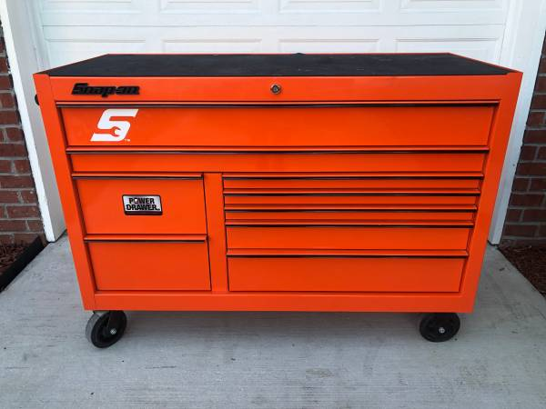 Photo Snap-On KCP2422BKH 55quot 9-Drawer Double-Bank Classic Series Roll Cab - $2,500 (jacksonville)