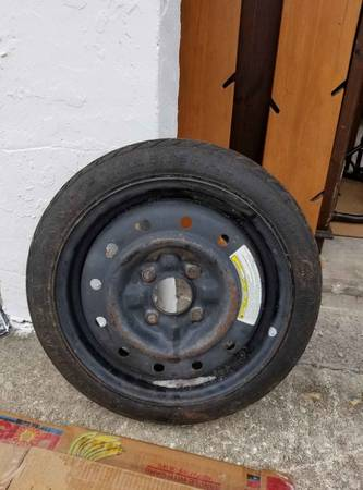Photo T12570D15 General 4 Lug Temporary Tire - $20 (Jacksonville)