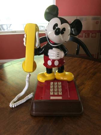 Photo The Mickey Mouse Phone - $20 (Jacksonville)