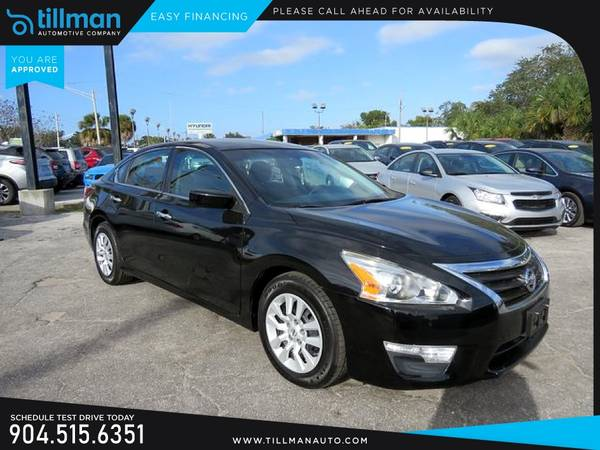Photo This 2015 Nissan Altima 2.5 S Sedan is PRICED TO SELL - $9990 (TILLMAN AUTOMOTIVE CO)