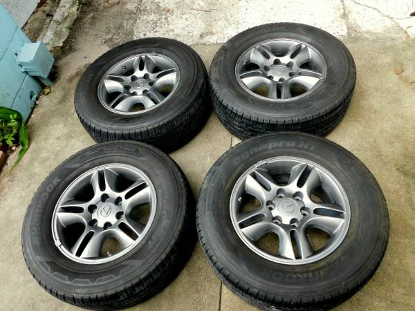 Photo Toyota Lexus Wheels 17quot Rims (6 Lug ) Hankook Tires - $400 (Jacksonville)