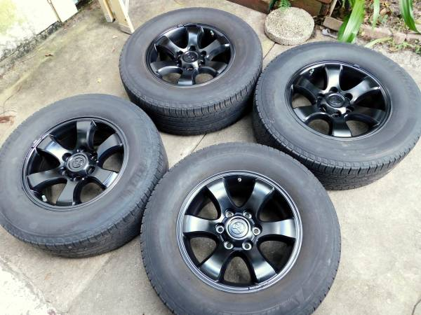 Photo Toyota Lexus Wheels 17quot Rims (6 Lug ) Michelin Tires - $375 (Jacksonville)