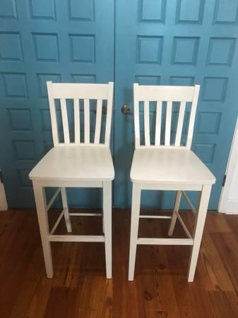 Photo Two bar stools - $35