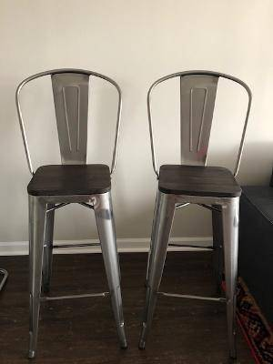 Photo Two bar stools - $50 (South Ponte Vedra)