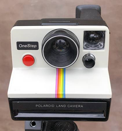 Photo Vintage Polaroid One Step film camera for $50.00 in excellent working - $50 (Jacksonville)