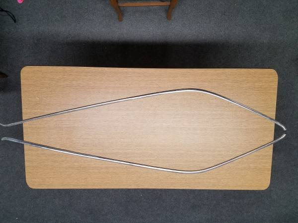 Photo 1967 BUICK Skylark Side Window Top MOULDING - Right and Left Set - - $125 (Whitewater)