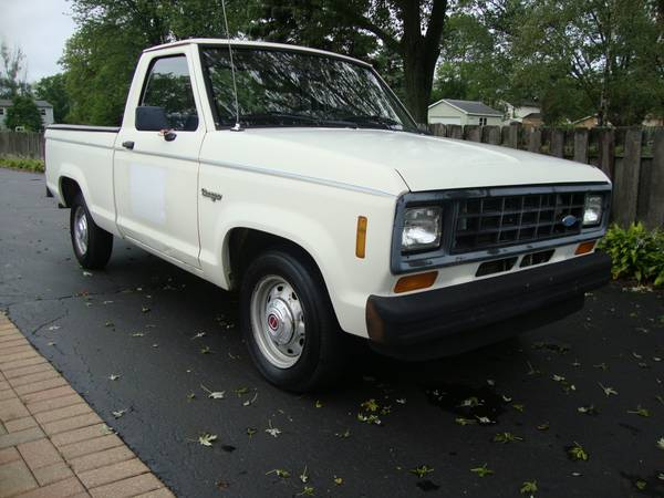 Photo 1987 Ford Ranger (41,000 Miles1 ownerGarage Kept) - $3,950 (Pleasant Prairie)