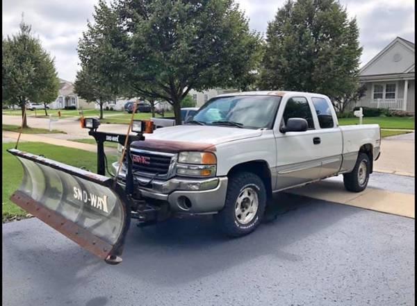 Photo 2003 GMC Sierra Plow Truck - $6500