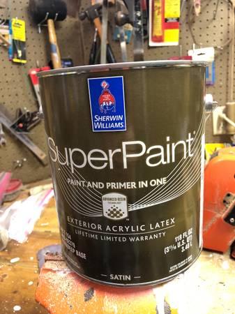 Photo 2- gallons of sherwin Williams paint - $50 (Janesville)