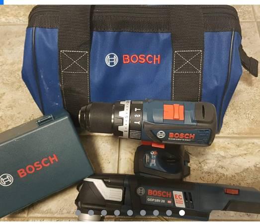 Photo Bosch tools Hammer Drill-Oscillating Tool - $200 (Janesville)