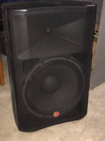 Photo Harbinger V2215 powered speaker - $150 (Mount Prospect)