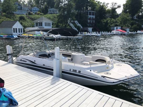 Photo Hurricane deck boat for sale - $20,000 (Fontana, WI)