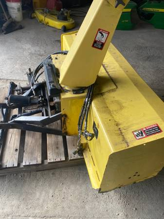 Photo John Deere 855,955 59 inch snow blower - $3,200 (Waupun)