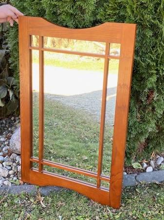 Photo Mission Style Mirror - $45 (Milton)