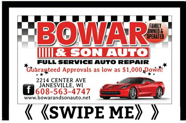 Photo Red hot deal Financing always available - $1 (Janesville)
