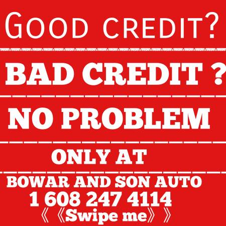 Photo Red hot deals only at bowar and son auto - $1,000 (Janesville)