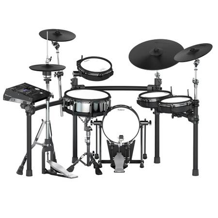 Photo Roland TD-50K V-Drums complete set and more - $4,500 (Willowbrook)