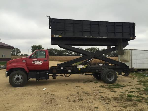 Roofing Scissors Lift Dump Truck 58000 Janesville Cars Trucks For Sale Janesville Wi Shoppok