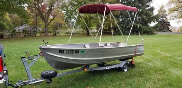 Photo Sea Nymph 14 foot Aluminum V-Hull - READY for Your Motor - $1,200 (Walworth  Lake Geneva)