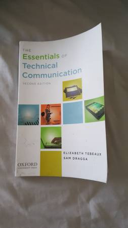 Photo The Essentials Of Technical Communication Second Edition Tebeaux, Drag - $10 (Mount Prospect)