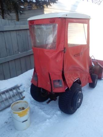 Photo Wheel Horse Classic 312 Hydro. With Cab, snowblower , deck, and more. - $1,995 (Elkhorn, Wi)