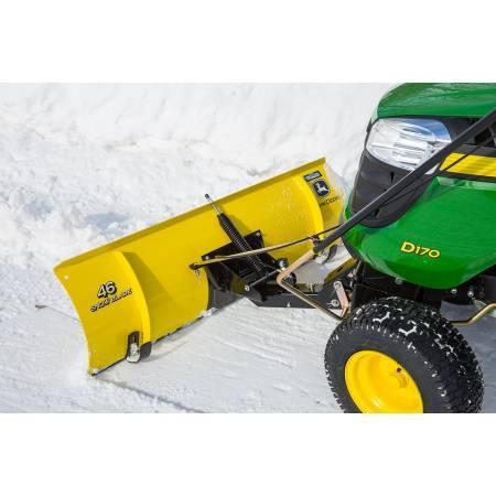 Photo snowplow for a John Deere garden tractor - $380 (Whitewater)