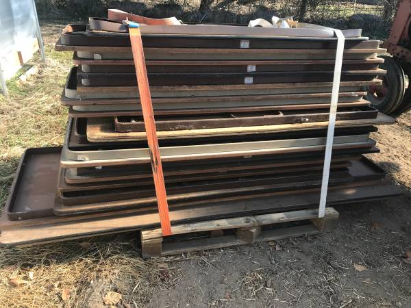 Photo 10 cafeteria type folding tables - $75 (Toms River)