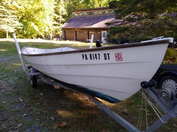 Photo 1539 Yankee Skiff  Dory (Stur-Dee, Bristol, Amesbury, Duxbury) - $1,499 (Hawley, Pa.)