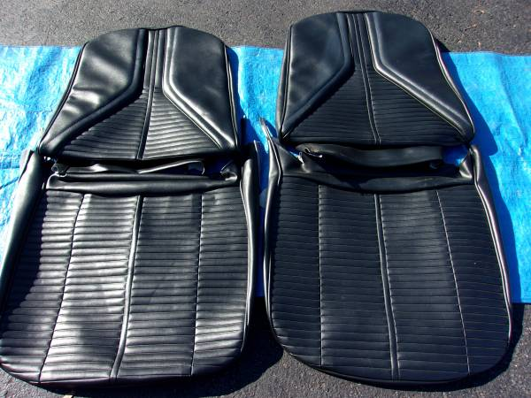 Photo 1967 Buick Skylark Bucket Seat Covers - $380 (Lehighton, Pa)
