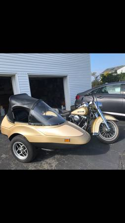 Photo 1979 Harley-Davidson FLH with a California Sidecar - $10,500 (Long Branch)