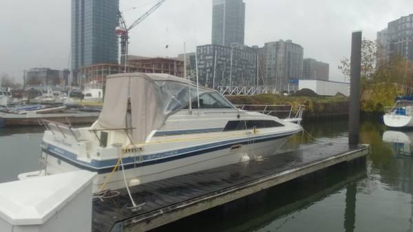 Photo 1986 2839 Bayliner Contessa Cabin Cruiser Boat - $5,500 (Waretown, NJ)