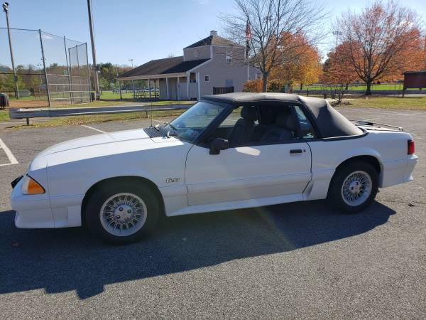 Photo 1989 Ford Mustang GT Convertible - $6600 (northvale)