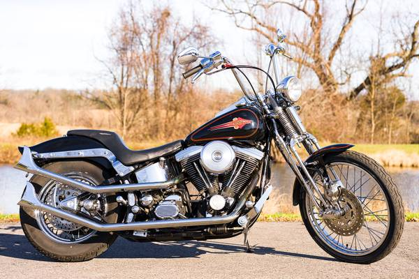 Photo 1996 Harley-Davidson Softail Springer FXSTS w 22,445 Miles V2 Evo - $7,995 (Zieglerville)