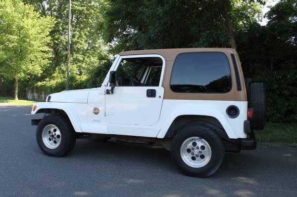 Photo 1997 Jeep Wrangler Sahara - $5200 (Deal NJ)