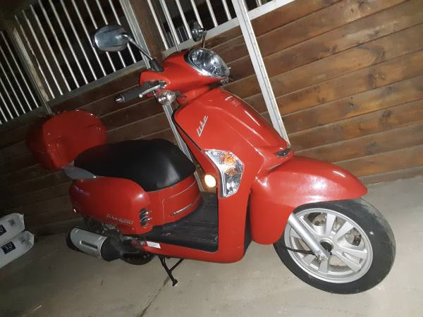 Photo 2014 KYMCO Like 200i - $1,450 (Stockton)